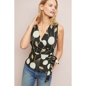 New Anthropologie Craspedia Top by Maeve Small